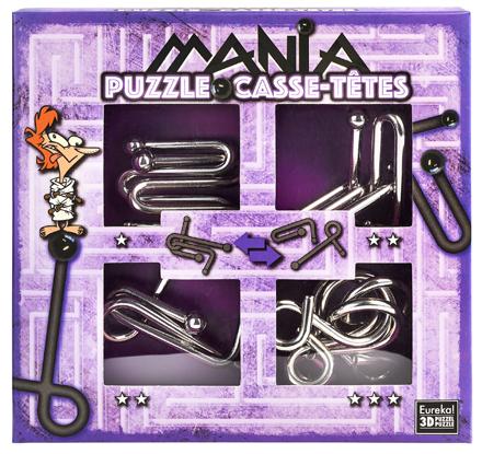 Puzzle-Set Purple