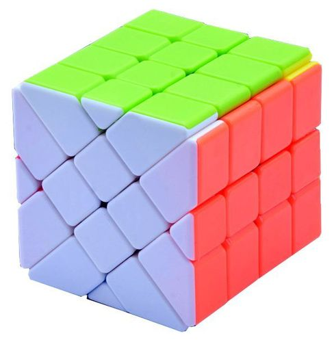 Fisher Cube 4x4x4 stickerless